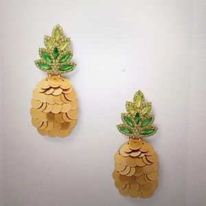 🍍NWT ! Kate Spade Pineapple Earrings 🍍